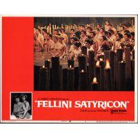 1969 Fellini Satyricon poster