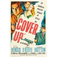 1949 Cover Up poster