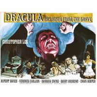 1968 dracula Has risen from His grave poster
