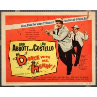 1956 Dance With Me Henry poster