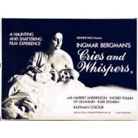 1972 cries And whispers movie poster