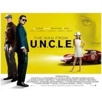 2015 Man From Uncle Quad poster