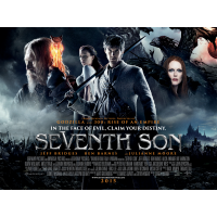 2014 Seventh Son quad poster