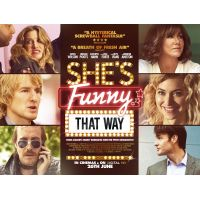 2014 Shes Funny That Way UK Quad Poster