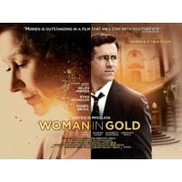 2015 woman In gold poster