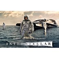 2014 Interstellar movie poster