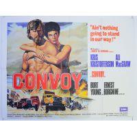 1978 convoy quad poster