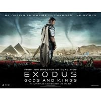 2014 Exodus Gods And Kings movie poster