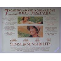 1995 sense And sensibility poster