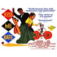 1953 Kiss Me Kate movie poster