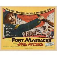 1958 fort massacre poster