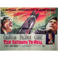 1959 Ten Seconds To Hell poster