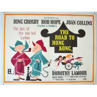 1962 Road To Hong Kong Poster
