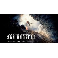2015 San Andreas Movie Poster
