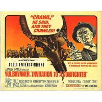 1964 Invitation To A Gunfighter poster