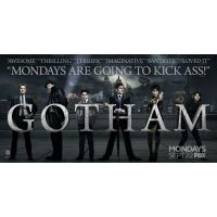 2014 gotham promotional banner poster