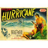 1937 Hurricane poster