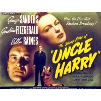 1945 The strange affair Of uncle harry movie poster