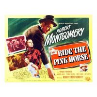1947 ride The pink horse movie poster
