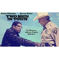 2014 Two Men In town quad poster