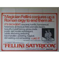 1969 Fellini Satyricon poster 2