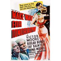 1937 make Way For tomorrow poster