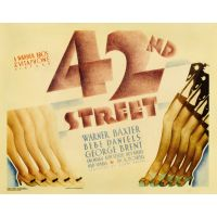 1933 42nd street poster