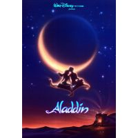 1992 aladdin movie poster