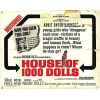 1967 House Of 1000 Dolls poster