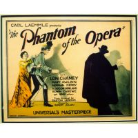 1929 Phantom Of The Opera movie poster