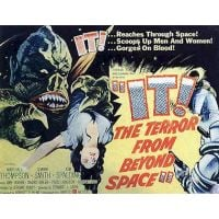 1958 It The Terror From Beyond Space Quad