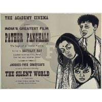 1955 pather panchali poster