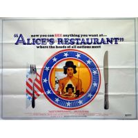1969 alices restaurant movie poster