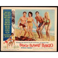 1965 Beach Blanket Bingo Poster