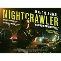 2014 Nightcrawler UK Quad Poster