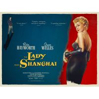 1947 Lady from Shanghai movie poster