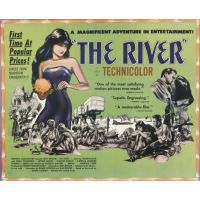 1951 The River poster