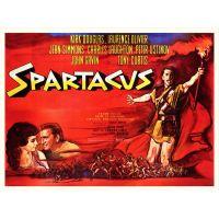 1960 spartacus movie poster