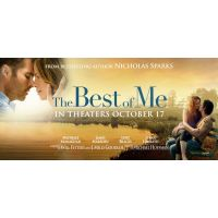 2014 The Best Of Me Banner Poster