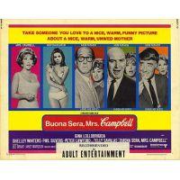 1968 Buona Sera Mrs Campbell poster