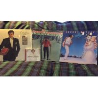 Mathis Christmas LPs
