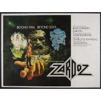 1974 Zardoz poster