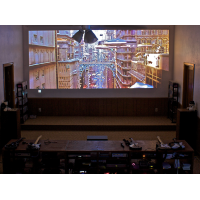 """204"""" projection display"""