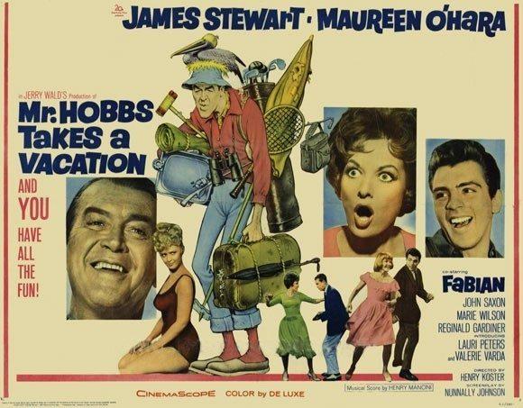 1962 Mr. Hobbs Poster