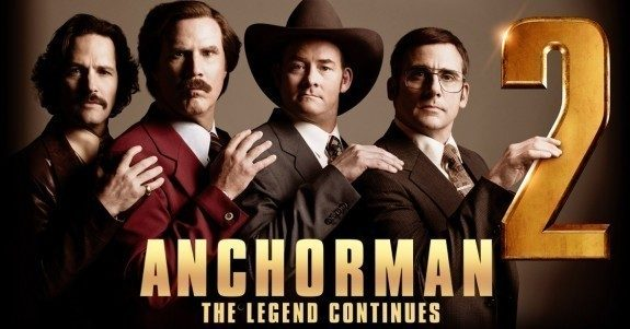 2013 Anchorman 2 Poster