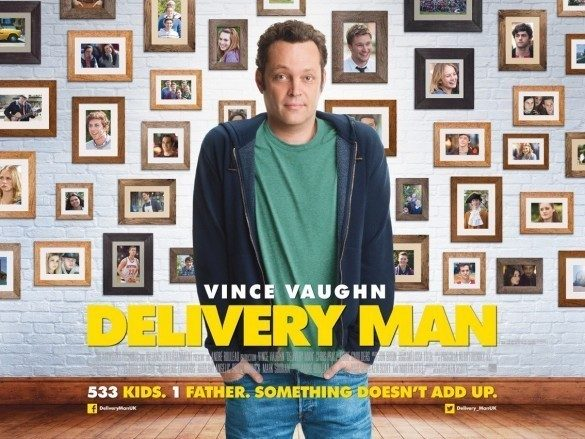 2013 Delivery Man UK Quad Poster
