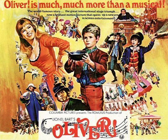 1968 Oliver Poster