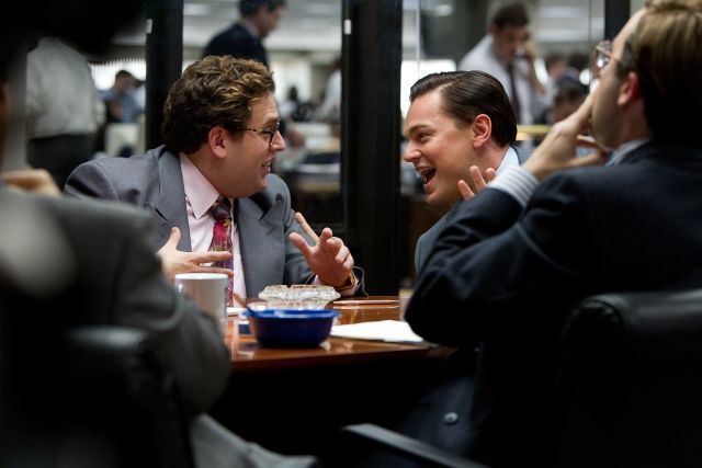 2013 wolf Of wall street hill dicaprio
