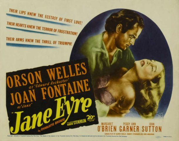 1944 jane eyre poster