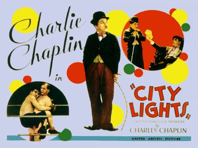 1931 city lights poster